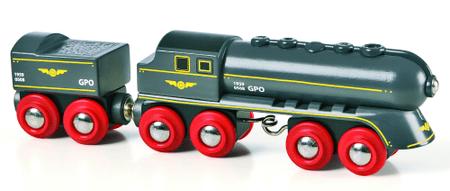 Brio hitri vlak z vagonom