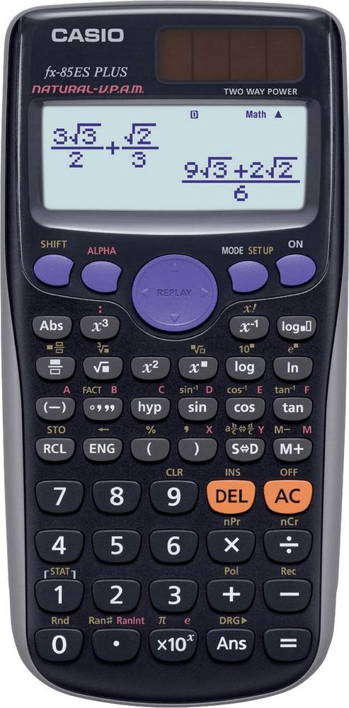 Casio FX 85 ES PLUS (4971850182191)