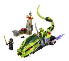 Lego Ninjago 9447 Lasha motor
