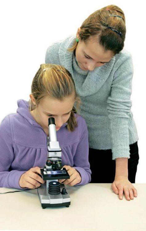 Bresser mikroskop Junior 40x-1024x USB camera + ochranný kufřík - rozbaleno