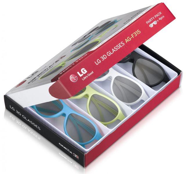 LG AG-F315 (4x 3D brýle)
