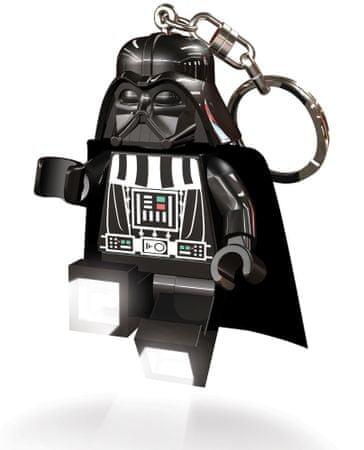 LEGO Star Wars - Darth Vader obesek za ključe z led lučjo