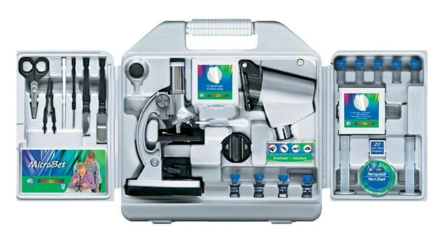 Bresser mikroskop Junior Biotar 300x-1200x + ochranný kufřík