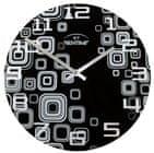 Bentime nástenné hodiny H16-AR295-BK