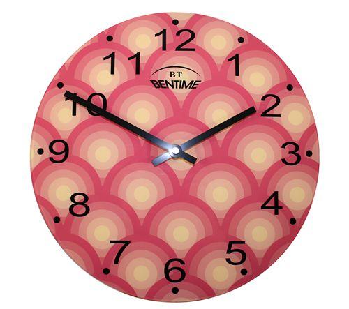 Bentime Nástěnné hodiny H16-AR295-YR - II. jakost