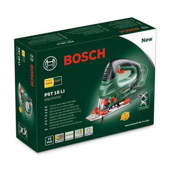 Bosch akumulatorska vbodna žaga PST 18 LI (0603011020)