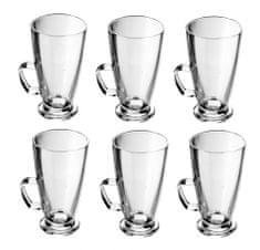 Tescoma staklene šalice za kavu Crema, 6 komada
