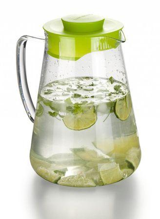 Tescoma steklen vrč TEO 2,5 L, zelen