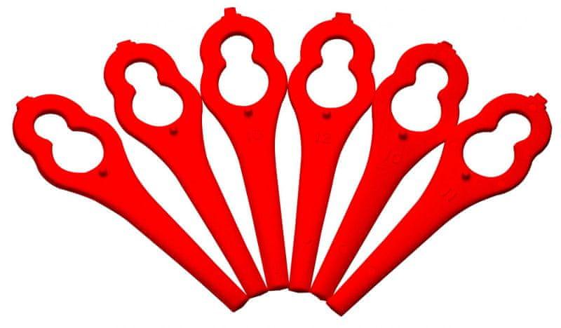 Bosch Plastové nože červené