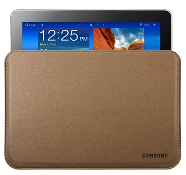 "Samsung EFC-1B1LCESTD pouzdro kožené pro Galaxy Tab 2, 10.1""/Note 10.1, Camel"