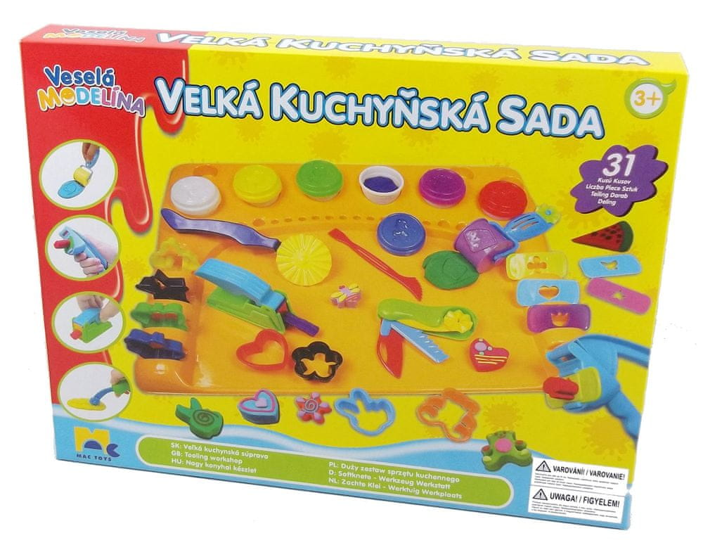 Mac Toys Velká kuchyňská sada s podložkou