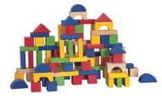 Woody Építő kocka 100db