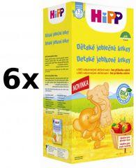 HiPP Detské jablkové keksy 150 g, 6x