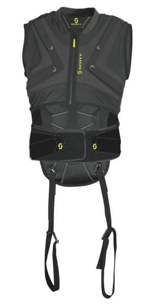 Scott Back Protector Soft Flex CRX (W13) black M - II. jakost