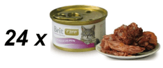 Brit Care Cat konzerva tuniak & losos 24 x 80g