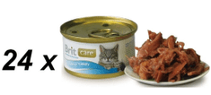 Brit Care Cat konzerva tuniak & moriak 24 x 80g