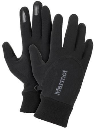 Marmot Wm's Power Stretch Glove Black S