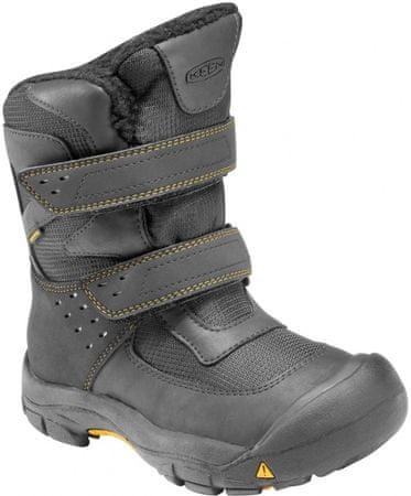 b87e5fc2e4f KEEN Kalamazoo High Boot WP K Black Yellow 8
