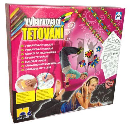 Mac Toys Tetovanie pre dievčatá