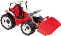 LENA Traktor kanállal piros/fehér