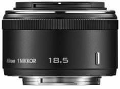 Nikon objektiv 1 Nikkor 18,5mm f/1.8, črn