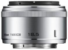 Nikon objektiv 1 Nikkor 18,5mm f/1.8, srebrn