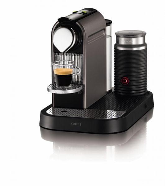 Nespresso Krups CitiZ&Milk XN730T + voucher na kávu ZDARMA!