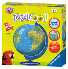 Ravensburger Mapa sveta Puzzleball 180