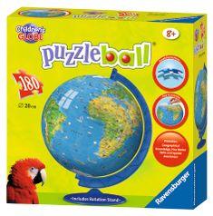 Ravensburger Puzzle przestrzenne - Globus, 180, j. angielski