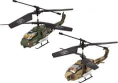 Buddy Toys Vnútorný trojkanálový 17 cm vrtuľník