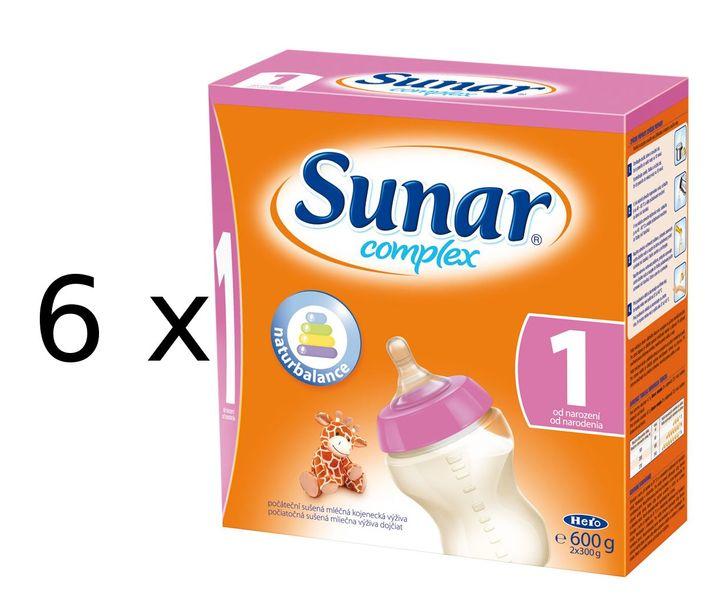 Sunar Complex 1 - 6 x 600g - II. jakost