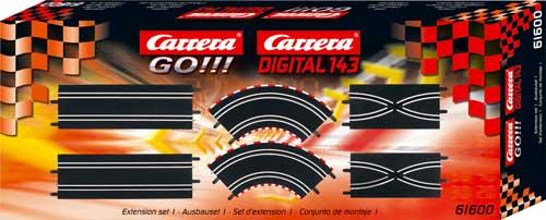 CARRERA Zestaw torów 61600 GO/D143