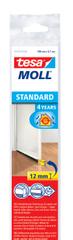 Tesa Kartáčová lišta pod dveře 1 m x 12 mm, bílá