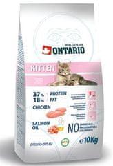 Ontario sucha karma dla kociąt Kitten 10 kg