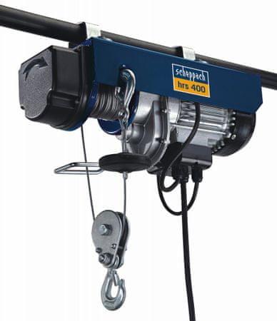 Scheppach wciągarka elektryczna HRS 400