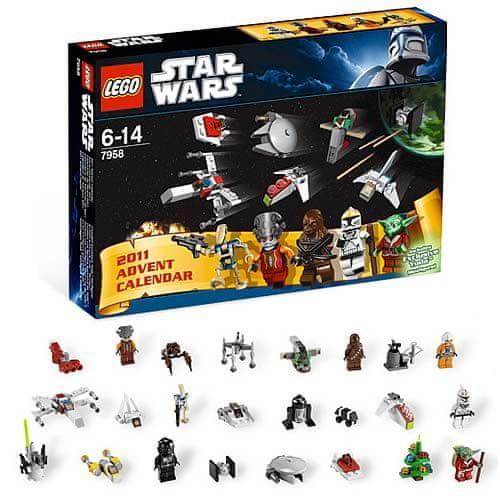 lego star wars adventni kalendar 2011 LEGO Stars Wars 7958 Adventní kalendář   Recenze | MALL.CZ lego star wars adventni kalendar 2011