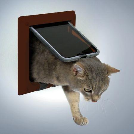 Trixie loputa za mačke in pse FreeCat Deluxe, rjava