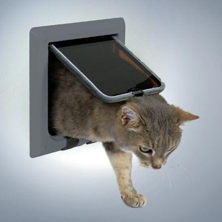 Trixie loputa za mačke in pse FreeCat Deluxe, siva