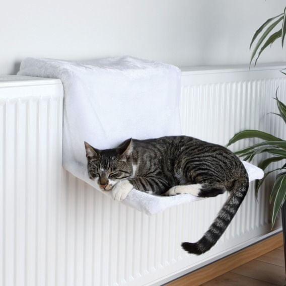 Trixie závěsné lůžko na topení De Luxe bílé