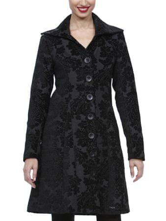 Desigual Kabát Abrig Irina, čierna, 36