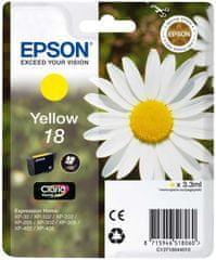 Epson C13T18044010 Tintapatron, Sárga
