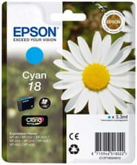 Epson C13T18024010 Tintapatron, Ciánkék