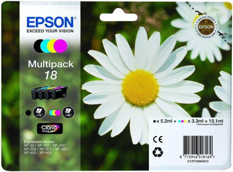 Epson T1806, C/M/Y/K pack (C13T18064010)