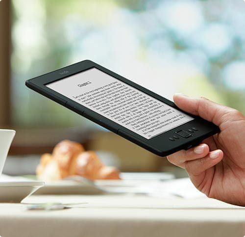 Amazon Kindle 5.generace, WiFi, Bez reklamy