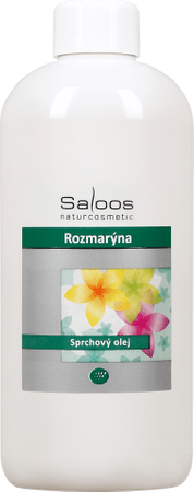 Saloos olje za prhanje Rožmarin, 500 ml