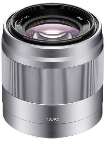 Sony 50 mm F1,8 Silver (SEL-50F18)