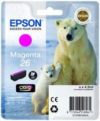 Epson tusz T2613, magenta (C13T26134010)