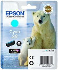 Epson C13T26124010 Tintapatron, Ciánkék
