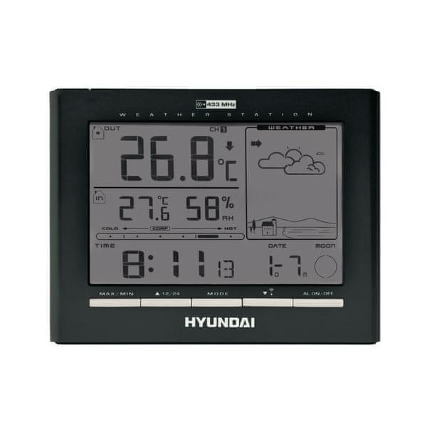 Hyundai WSC2180, černá - II. jakost