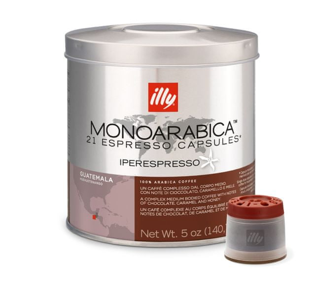 illy Kapsle iperEspresso Monoarabica Guetemal